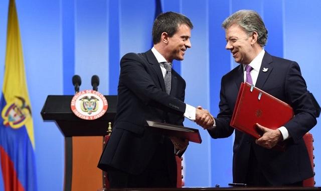 {:fr}Signature de l'accord de protection réciproque des investissements France-Colombie{:}{:es}Firma del acuerdo de protección recíproca de inversiones de Francia y Colombia{:}