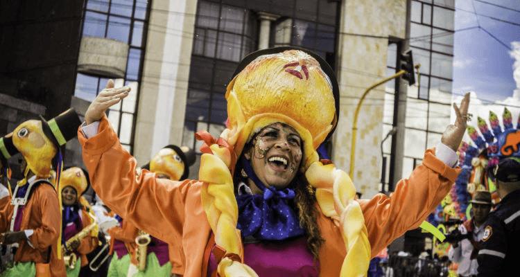 Festival avec leCarnaval de Negros y Blancos à San Juan de Pasto