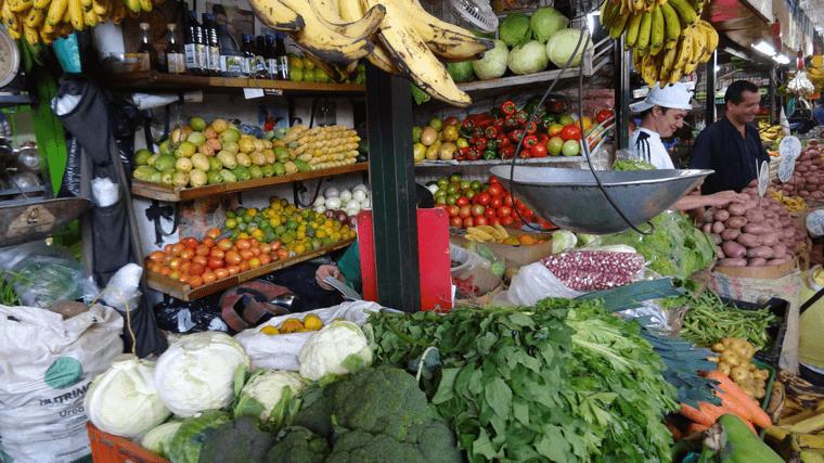 Manger végétarien à Medellín