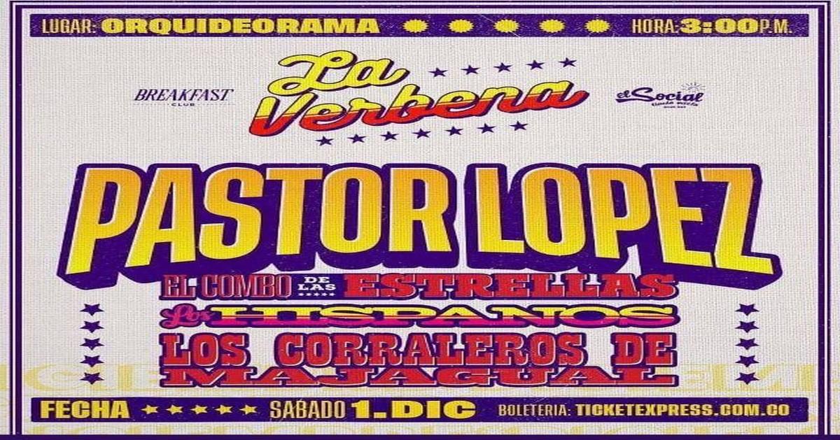 La Verbena 2018 avec Pastor López