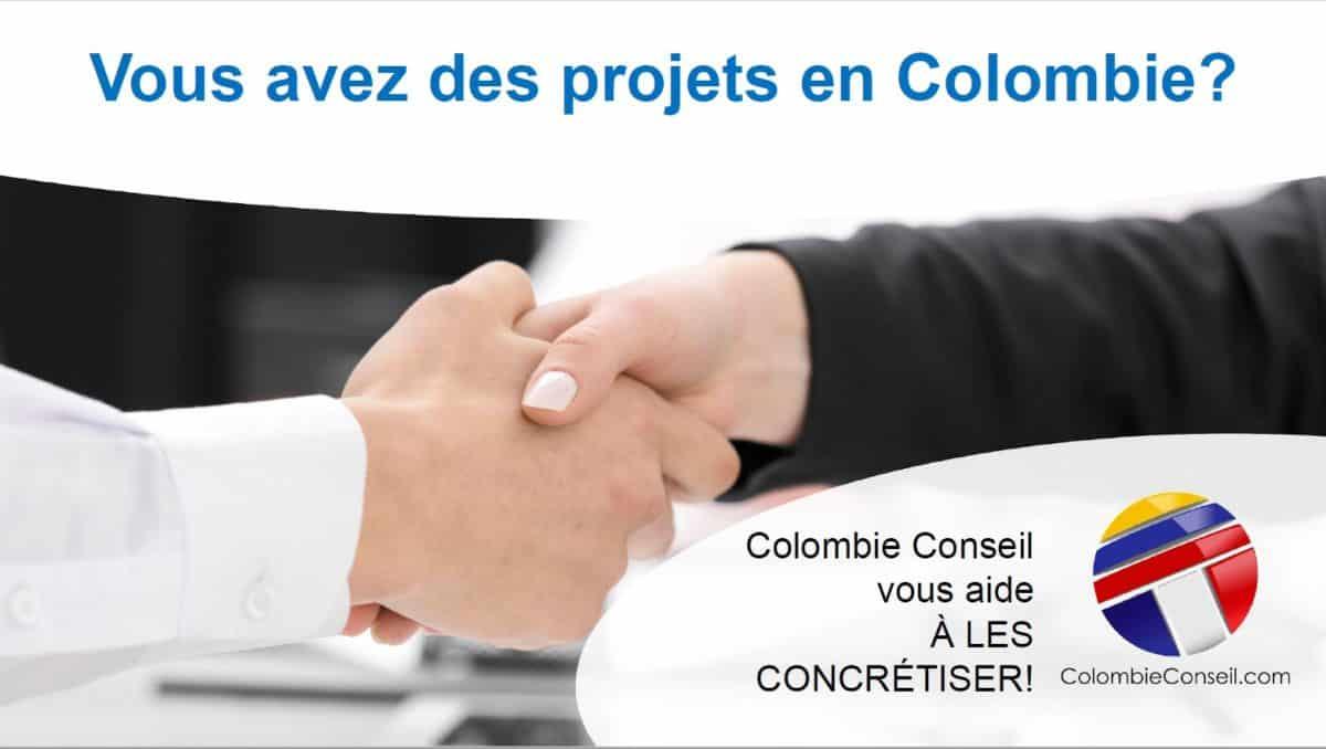 Présentation des services de Colombie Conseil 2019