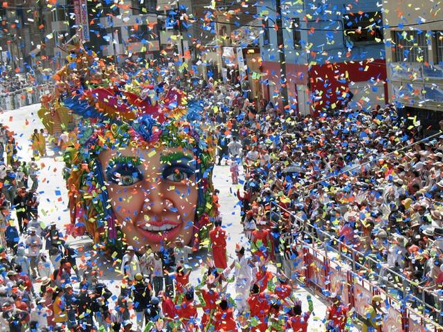 Carnaval de Blancos y Negros à Pasto (Nariño)