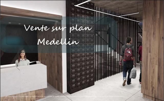 Poblado Medellín – Vente sur plan