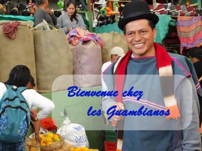 Silvia, Bienvenue en terre Guambianos…